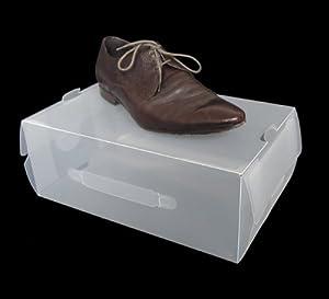 Plastico Zapatos De Para Cajas Sharemedoc pw6F56Tqx