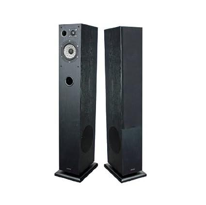 Advance Acoustic K7BA Paire d'enceintes colonne 3 voies Série Kubik Boomer 21 cm 150 W 91 dB 8 Ohms Fêne Noir