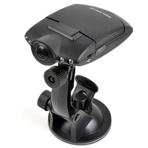 "Fouring Nz661 Car Dash Dvr With Night Vision, Microphone Built In, 2.0"" Rotatable And Foldable Tft Lcd Screen Display"
