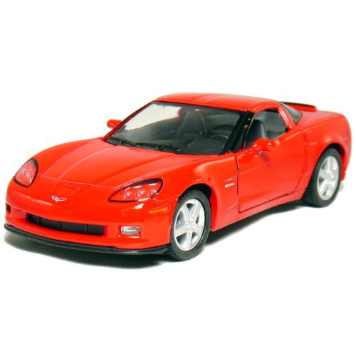 "5"" 2007 Corvette Z06 1:36 Scale (Red)"