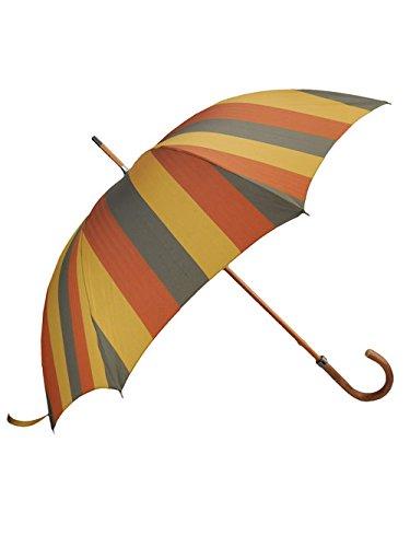 (マリア フランチェスコ) Maglia Francesco マスタード&オレンジストライプ 折り畳み傘