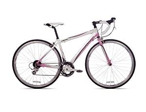 Giordano Libero 1.6 Women's Road Bike, 700c, Light Pink/White, Small