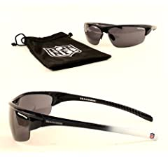 New NFL IMPACT Style Seattle Seahawks SunGlasses with BAG - COOL-SHADES-Merchan dse
