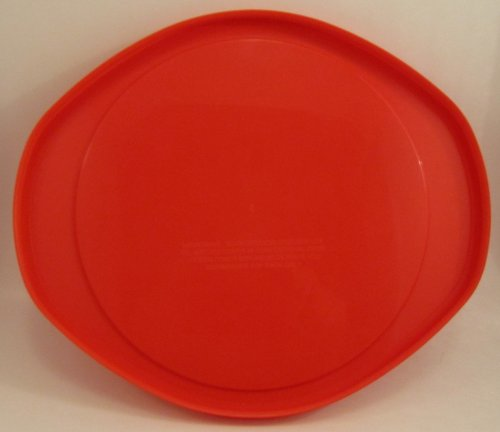 pyrex red plastic lid for 2 qt round baking dish new. Black Bedroom Furniture Sets. Home Design Ideas
