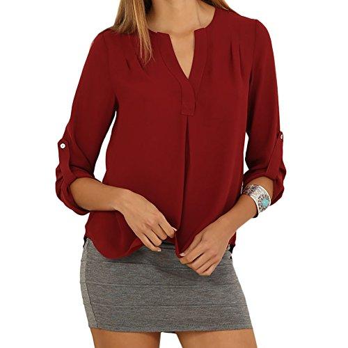 Eliacher freizeithemd damen tops plus size bluse for 50er mode damen