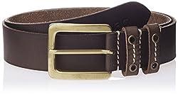 WAC Men's Leather Belt (8907222328207_Large_Tan)