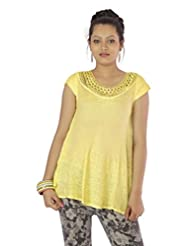 Shopping Rajasthan Exclusive Design Ethnic Rayon Crepe Handmade Handloom Kurti Top - B00PHBXM3O