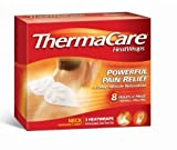 ThermaCare Air-Activated Neck, Shoulder and Wrist HeatWraps, Powerful Pain Relief Plus Deep Tissue Relaxation - NEW shape for improved fit - 9 HeatWraps