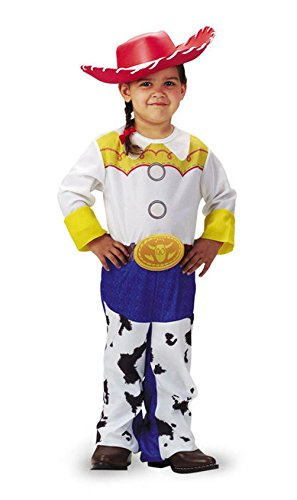 Mememall Fashion Jessie Cowgirl Costume and Hat Girls Toy Story Toddler Childs 3T-4T (Childs Deluxe Cowgirl Costume)