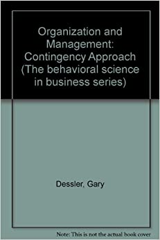 contingency approach to management in business This study focused on what is perhaps the most critical aspect of strategy implementation in large, multibusiness organizations: recognizing that different business units within the same corporation often pursue different strategies and that the administrative mechanisms that corporate headquarters use to manage those.