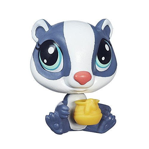 Littlest Pet Shop Get the Pets Single Pack Honey Badgely Doll