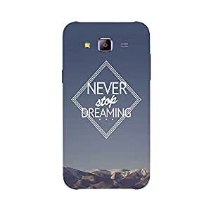 Back cover for Samsung Galaxy E5 Never Stop Dreaming 4