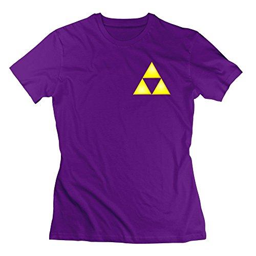 Nana-Custom Tees -  T-shirt - Donna viola S