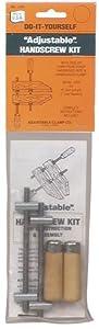 Jorgensen J-12 12-Inch Hand Screw Wood Clamp Kit