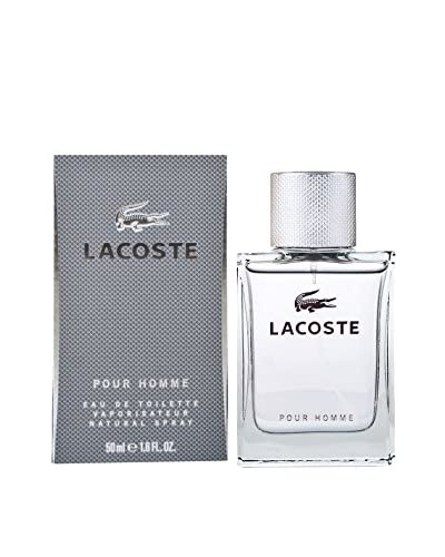 Lacoste Men's LACOSTE8099242 Lacoste Pour Homme 1.7 EDT Spray, N/A, 1.7 Ounce
