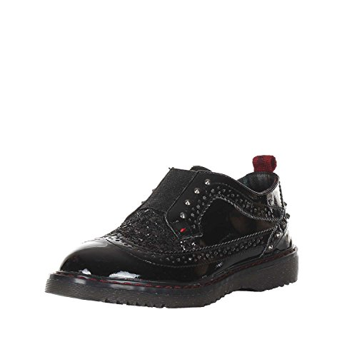 Wrangler Rocki Brogue Girl Mocassino Bambina Nero 35