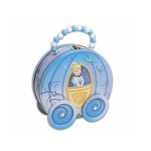 "Cinderella Carriage with Wheels Purse, Size: 7 X 2-5/8 X 7""h"