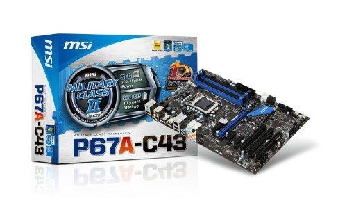 MSI P67S-C43 1155 ATX Motherboard