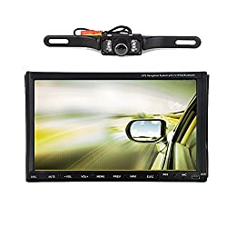 See 7 inch Slide Down Android 4.2 Car DVD Player GPS 3G Dongle SD/USB wifi BT 2 DIN Video Stereo Dual-Core Car Radio Video Audio PC+Free Backup Camera Details