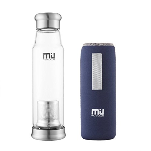 miu-color-glass-water-bottle-bpa-free-bottle-with-infuser-and-nylon-sleeve-22-ounce-dark-blue