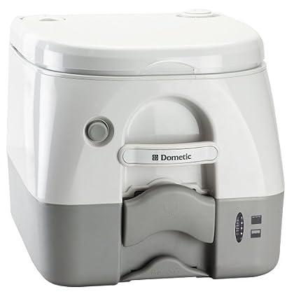 ff4e00859b1 Review Dometic SeaLand 974MSD Portable Toilet 2.6 Gallon Grey w ...