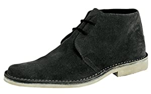 ROAMER DESERT BOOT, A NEW TAKE ON THE TIMELESS CLASSIC, LIMITED SUPPLY (BLACK, 6)