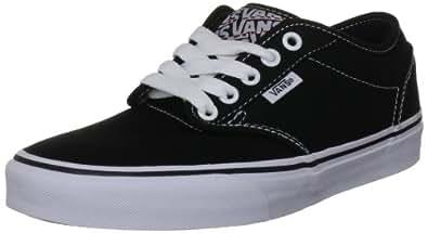 Vans Women's VANS ATWOOD SKATE SHOES 5.5 (BLACK/WHITE)