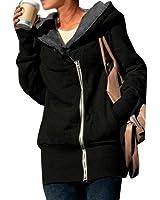DJT Double Zip Designer Women's Ladies Hoodies Sweatshirt Top Sweater Jacket Coat 7 Colours 8 Sizes