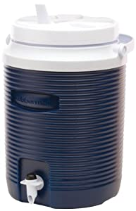 Rubbermaid Victory Jug Water Cooler, 2-gallon, Blue