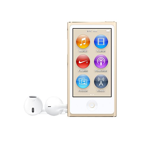 Apple MKMX2QB/A 16GB iPod Nano - Gold
