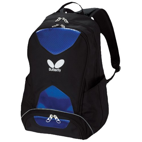 Butterfly Nubag 4 Table Tennis Rucksack (Blue)