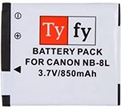 Tyfy NB-8L (Canon)(850 mAh) Rechargeable Battery