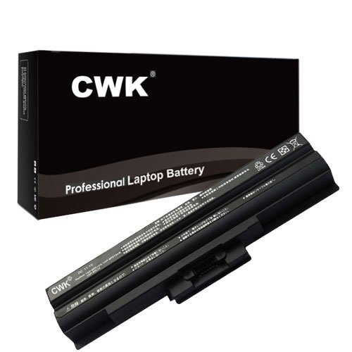 Click to buy CWK® New Replacement Laptop Notebook Battery for Sony Vaio VGN-FW190EGH VGN-FW260J VGN-FW373J/B VGN-NW235F/S VGN-CS60B/Q VGN-CS62JB/R VGN-FW548F VGN-NS140E/S VGN-CS290JAB VGN-CS390DFB VGN-FW285J/B VGN-FW351J VGN-AW83FS VGN-CS160A/Q VGN-CS215J/Q VGN-CS290J - From only $49.98