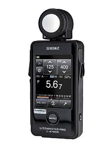 Sekonic LiteMaster Pro Posemètre à écran tactile avec émetteur Radio