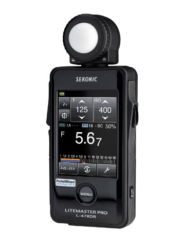 Sekonic LiteMaster Pro Exposure Meter Touch Screen with Radio Transmitter