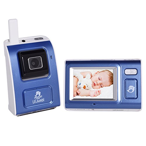 Video Baby Monitor Security Wireless Digital Camera w/ Night Vision, Temperature Monitoring & Two-Way Intercom, Nightlight and Lullaby Player, Timer Alarm, 900ft Range
