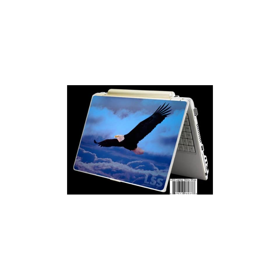 Laptop Skin Shop Laptop Notebook Skin Sticker Cover Art Decal Fits 13.3 14 15.6 16 HP Dell Lenovo Asus Compaq (Free 2 Wrist Pad Included) Eagle