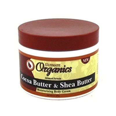 Ultimate Organic Cocoa Butter & Shea 8oz Jar