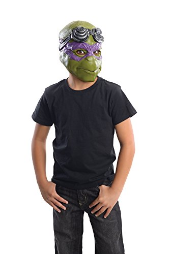 Rubie's Costume Men's Teenage Mutant Ninja Turtles Donatello Adult 3/4 Mask