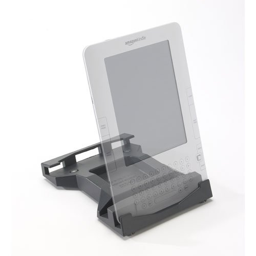 "Multi-Position Reading Stand for Kindle 2 (2nd Gen 6"") E-Reader [Kradle SQ :: KA-222G in Graphite]"