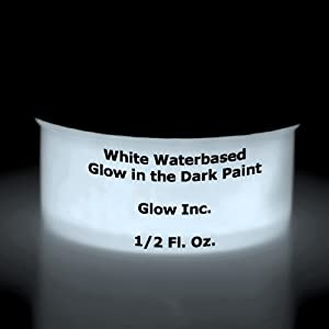 white glow in the dark paint 1 2 fluid ounce. Black Bedroom Furniture Sets. Home Design Ideas