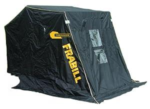 Frabill 6120 Trekker 2 Man Flip Style Shelter with Two Seats