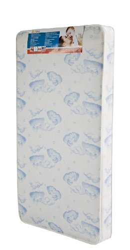 Dream On Me 88 Coil Spring Crib and Toddler Bed Mattress, Sweet Dreams, 6""