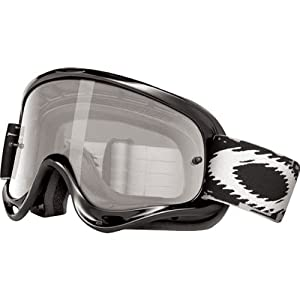 Oakley XS O-Frame with Clear Lens included MX Goggles XS O Frame & Clear AF Lens (jet black , One Size) at Sears.com