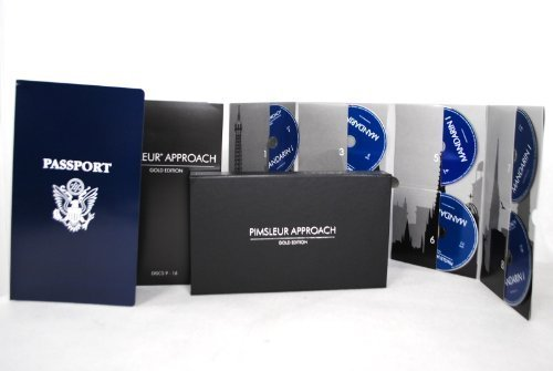 Pimsleur Approach Gold Edition Mandarin 1-16 Cd Set [Audio Cd] by Pimsleur