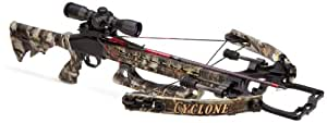 Parker Cyclone Express 175 Crossbow with 3 - dot Illuminated Red / Green Optic
