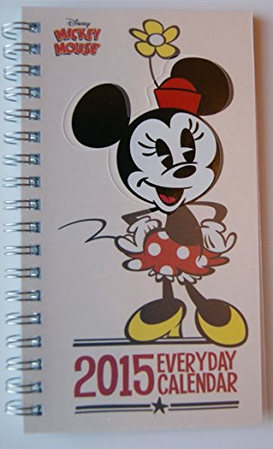 Minnie Mouse 2015 Every Day Calendar Planner