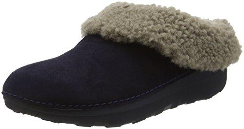 FitflopLoaff Snug - Pantofole donna , Blu (Blue (Supernavy)), 38