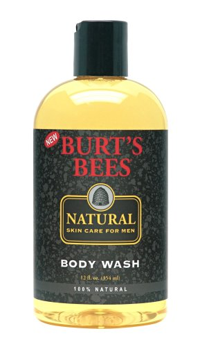 Burt's Bees Natural Skin Care for Men Body Wash,