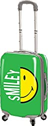 Smiley Face 26 Inch Expandable Spinner Luggage
